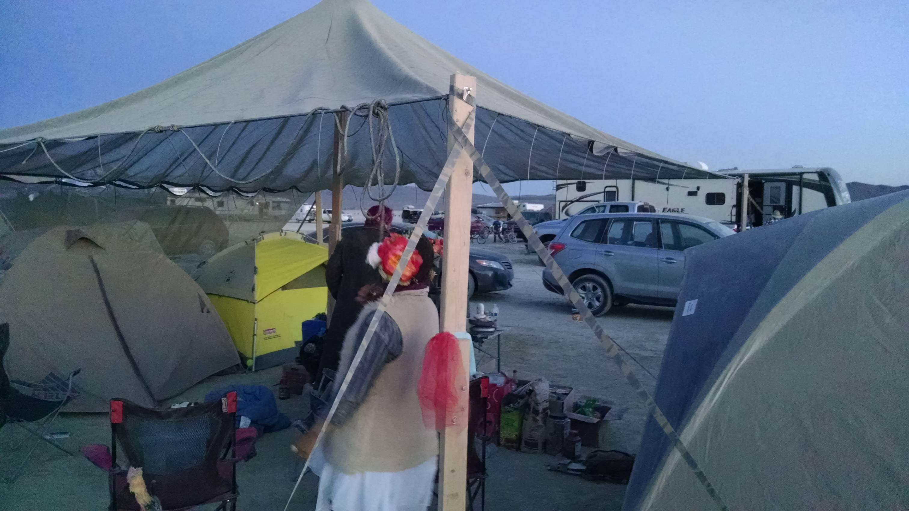Burning Man Shade Structure | AFTbit